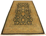 "A02385, 3' 2"" X  4'11"",Transitional                  ,3' x 5',Grey,GREEN,Hand-knotted                  ,Pakistan   ,100% Wool  ,Rectangle  ,652671144578"