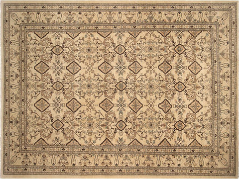"A02665,13'11"" X 17'11"",Transitiona,14' x 18',Tan,BROWN,Hand-knotted                  ,Pakistan   ,100% Wool  ,Rectangle  ,652671147333"