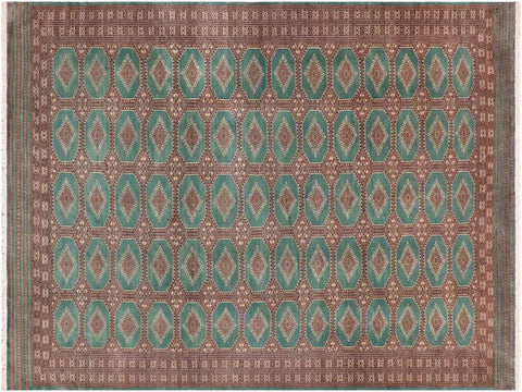 "A02770,10' 0"" X 13'11"",Geometric                     ,10' x 14',Green,LT. BROWN,Hand-knotted                  ,Pakistan   ,100% Wool  ,Rectangle  ,652671148361"
