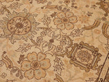 "A02988, 9' 4"" X 12' 6"",Traditional,9' x 12',Tan,LT. BROWN,Hand-knotted                  ,Pakistan   ,100% Wool  ,Rectangle  ,652671150470"