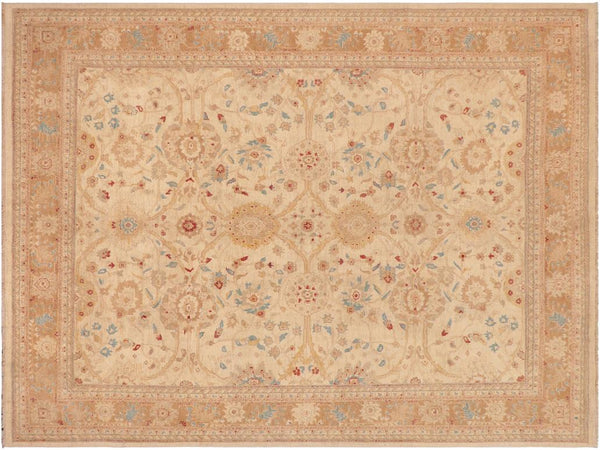 "A03029, 9' 2"" X 11' 8"",Transitiona,9' x 12',Natural,LT. BROWN,Hand-knotted                  ,Pakistan   ,100% Wool  ,Rectangle  ,652671150876"
