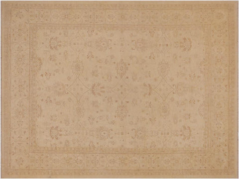 "A03087, 9' 3"" X 12' 4"",Traditional                   ,9' x 12',Tan,TAN,Hand-knotted                  ,Pakistan   ,100% Wool  ,Rectangle  ,652671151439"