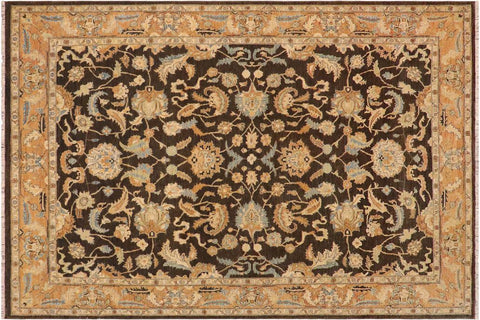 "A03338, 8'10"" X 11' 5"",Traditional                   ,9' x 12',Grey,LT. BROWN,Hand-knotted                  ,Pakistan   ,100% Wool  ,Rectangle  ,652671153785"
