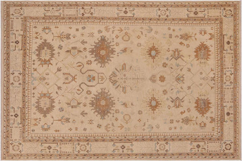 "A03340, 9' 0"" X 11' 9"",Traditional                   ,9' x 12',Natural,BLUE,Hand-knotted                  ,Pakistan   ,100% Wool  ,Rectangle  ,652671153808"