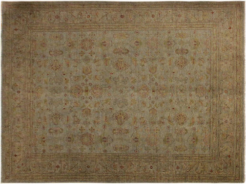 "A03356, 7'11"" X  9' 9"",Over Dyed                     ,8' x 10',Grey,GOLD,Hand-knotted                  ,Pakistan   ,100% Wool  ,Rectangle  ,652671153969"
