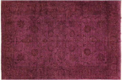 "A03360, 8' 5"" X 10' 7"",Over Dyed                     ,8' x 10',Purple,BROWN,Hand-knotted                  ,Pakistan   ,100% Wool  ,Rectangle  ,652671154003"
