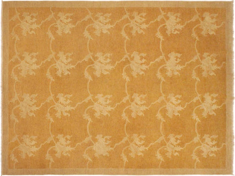 "A03399, 9' 0"" X 11'10"",Modern     ,9' x 12',Gold,GOLD,Hand-knotted                  ,Pakistan   ,100% Wool  ,Rectangle  ,652671154393"