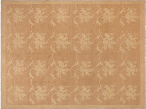 "A03610, 8'10"" X 11' 1"",Modern     ,9' x 12',Taupe,TAN,Hand-knotted                  ,Pakistan   ,100% Wool  ,Rectangle  ,652671155390"