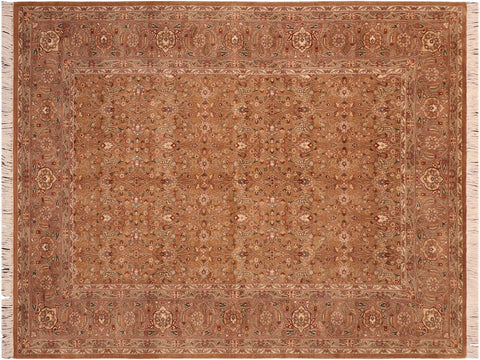 "A03729, 6' 0"" X  9' 0"",Traditional                   ,6' x 9',Gold,LT. BROWN,Hand-knotted                  ,Pakistan   ,100% Wool  ,Rectangle  ,652671156526"