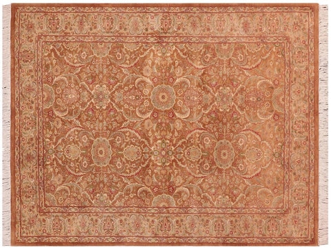 "A03746, 4' 7"" X  6'11"",Transitional                  ,5' x 7',Taupe,LT. TAN,Hand-knotted                  ,Pakistan   ,100% Wool  ,Rectangle  ,652671156670"