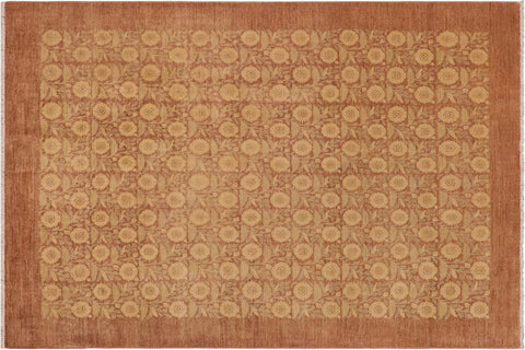 "A03981, 9' 0"" X 11' 9"",Modern     ,9' x 12',Tan,BROWN,Hand-knotted                  ,Pakistan   ,100% Wool  ,Rectangle  ,652671159015"