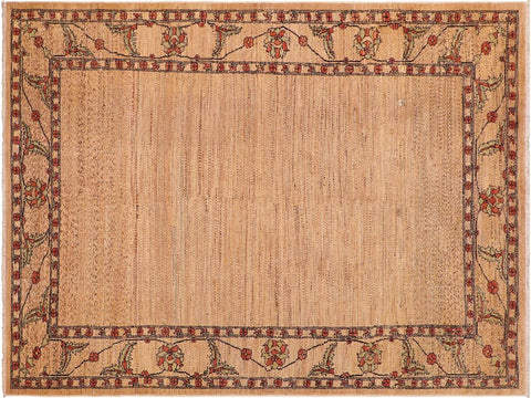 "A04007, 5'11"" X  9' 0"",Modern     ,6' x 9',Tan,MULTI,Hand-knotted                  ,Pakistan   ,100% Wool  ,Rectangle  ,652671159275"