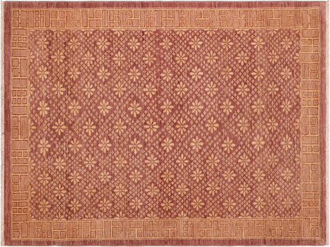 "A04046, 5'10"" X  9' 2"",Modern     ,6' x 9',Brown,CHOCOLATE,Hand-knotted                  ,Pakistan   ,100% Wool  ,Rectangle  ,652671159664"