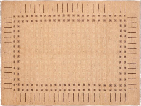 "A04105, 5'10"" X  8' 8"",Modern     ,6' x 9',Tan,MULTI,Hand-knotted                  ,Pakistan   ,100% Wool  ,Rectangle  ,652671160257"