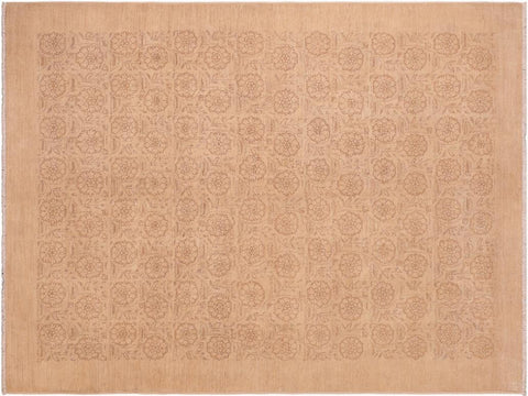 "A04110, 6' 1"" X  8' 6"",Modern     ,6' x 9',Tan,TAN,Hand-knotted                  ,Pakistan   ,100% Wool  ,Rectangle  ,652671160301"