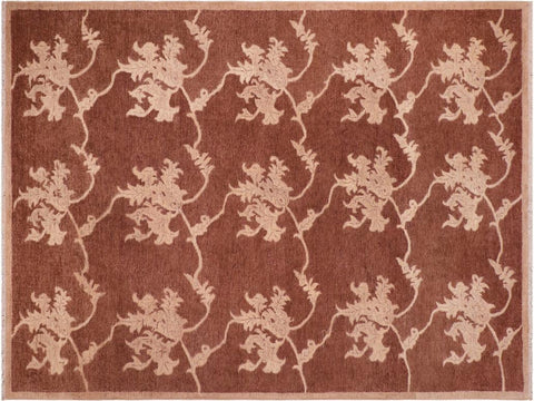 "A04113, 6' 0"" X  9' 3"",Modern     ,6' x 9',Brown,TAN,Hand-knotted                  ,Pakistan   ,100% Wool  ,Rectangle  ,652671160332"