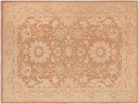"A04302, 9'11"" X 13' 7"",Traditional                   ,10' x 14',Taupe,LT. TAN,Hand-knotted                  ,Pakistan   ,100% Wool  ,Rectangle  ,652671162220"