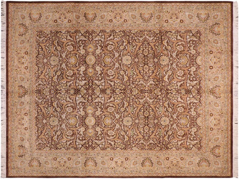 "A04571, 8' 0"" X 10' 2"",Traditional                   ,8' x 10',Brown,TAN,Hand-knotted                  ,Pakistan   ,100% Wool  ,Rectangle  ,652671164880"
