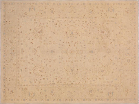"A04590, 9' 0"" X 12' 1"",Traditional                   ,9' x 12',Tan,TAN,Hand-knotted                  ,Pakistan   ,100% Wool  ,Rectangle  ,652671165061"