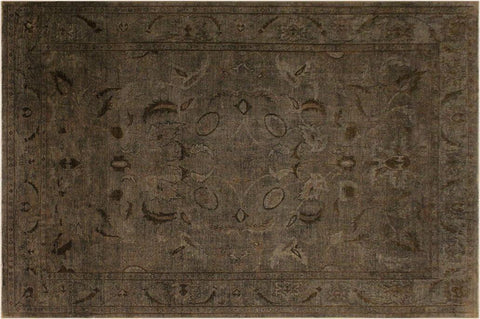 "A05172, 9' 0"" X 11' 1"",Over Dyed                     ,9' x 11',Grey,BLACK,Hand-knotted                  ,Pakistan   ,100% Wool  ,Rectangle  ,652671197246"
