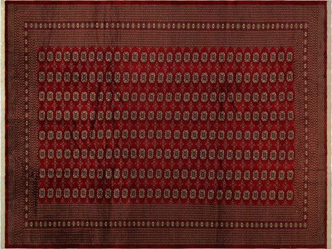 "A05186, 9' 3"" X 11'10"",Geometric                     ,9' x 12',Red,GOLD,Hand-knotted                  ,Pakistan   ,100% Wool  ,Rectangle  ,652671195631"