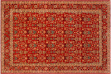 "A00789, 8'10"" X 12' 4"",Transitional                  ,9' x 12',Red,RED,Hand-knotted                  ,Pakistan   ,100% Wool  ,Rectangle  ,652671129032"