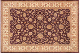 "A00794, 8'11"" X 11' 9"",Traditional                   ,9' x 12',Purple,IVORY,Hand-knotted                  ,Pakistan   ,100% Wool  ,Rectangle  ,652671129087"