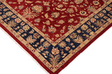 "A00804, 9' 4"" X 11' 6"",Traditional                   ,9' x 12',Red,BLUE,Hand-knotted                  ,Pakistan   ,100% Wool  ,Rectangle  ,652671129186"