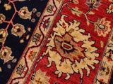 "A00805, 8' 9"" X 11'11"",Traditional                   ,9' x 12',Navy,RED,Hand-knotted                  ,Pakistan   ,100% Wool  ,Rectangle  ,652671129193"