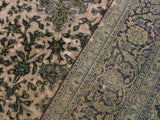 "A08234, 8' 0"" X 11' 0"",Vintage                       ,8' x 11',Natural,GREEN,Hand-knotted                  ,Iran       ,100% Wool  ,Rectangle  ,652671172366"