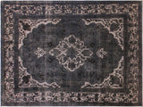 "A08235, 8' 2"" X 11' 8"",Vintage                       ,8' x 11',Natural,BLUE,Hand-knotted                  ,Pakistan   ,100% Wool  ,Rectangle  ,652671172373"