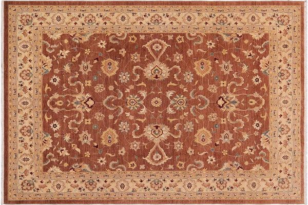 "A00823, 8'11"" X 11' 5"",Traditional                   ,9' x 12',Brown,TAN,Hand-knotted                  ,Pakistan   ,100% Wool  ,Rectangle  ,652671129353"