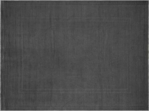 "A08260, 9' 0"" X 11' 8"",Over Dyed  ,9' x 12',Grey,GRAY,Hand-knotted                  ,Pakistan   ,100% Wool  ,Rectangle  ,652671172571"