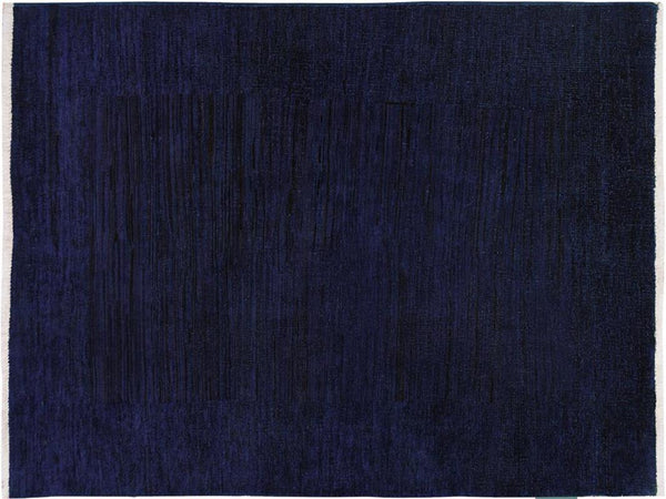 "A09086, 3' 1"" X  4' 7"",Over Dyed                     ,3' x 5',Blue,PURPLE,Hand-knotted                  ,Pakistan   ,100% Wool  ,Rectangle  ,652671174209"