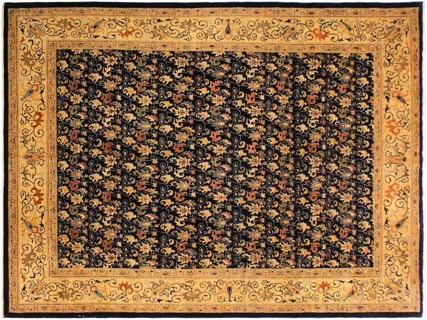 "A00915, 8' 6"" X 11' 9"",Transitional                  ,9' x 12',Grey,TAN,Hand-knotted                  ,Pakistan   ,100% Wool  ,Rectangle  ,652671130274"
