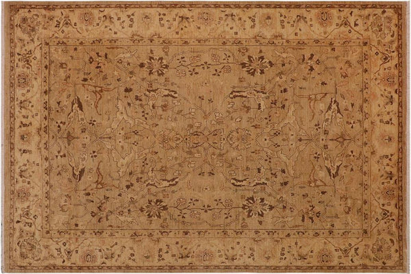 "A00916, 9' 4"" X 12' 1"",Traditional                   ,9' x 12',Tan,TAN,Hand-knotted                  ,Pakistan   ,100% Wool  ,Rectangle  ,652671130281"