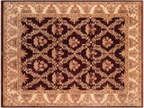 "A00930, 8' 3"" X 10' 2"",Traditional                   ,8' x 10',Purple,IVORY,Hand-knotted                  ,Pakistan   ,100% Wool  ,Rectangle  ,652671130427"