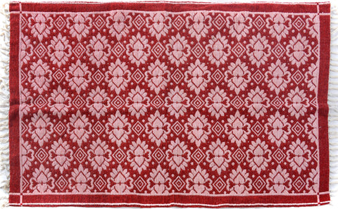 "A09374, 3' 9"" X  5'10"",Transitiona,4' x 6',Red,PINK,Hand-woven                    ,Pakistan   ,100% Wool  ,Rectangle  ,652671177088"