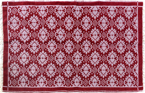 "A09377, 3'10"" X  5'10"",Transitiona,4' x 6',Pink,PINK,Hand-woven                    ,Pakistan   ,100% Wool  ,Rectangle  ,652671177118"