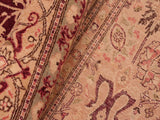 "A00950, 8' 2"" X 10' 5"",Traditional                   ,8' x 10',Burgundy,TAN,Hand-knotted                  ,Pakistan   ,100% Wool  ,Rectangle  ,652671130625"