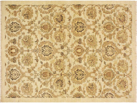 "A09514, 3'11"" X  6' 0"",Modern     ,4' x 6',Natural,TAN,Hand-knotted                  ,Pakistan   ,100% Wool  ,Rectangle  ,652671178481"