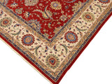 "A09560 9' 0"" X 11'10""Traditional                   9x12'RedIVORYHand-knotted                  Pakistan   100% Wool  Rectangle  652671178917"