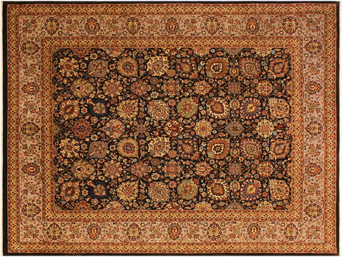 "A00966, 8' 1"" X 10' 0"",Traditional                   ,8' x 10',Brown,TAN,Hand-knotted                  ,Pakistan   ,100% Wool  ,Rectangle  ,652671130786"