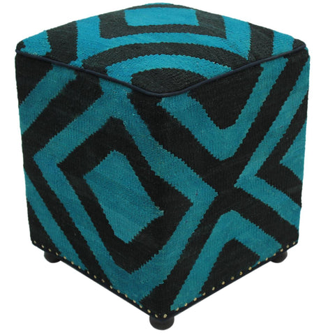 P01901,Over Dyed                     ,,Black,TEAL,Hand-made                     ,Pakistan   ,100% Wool  ,Rectangle  ,652671217432