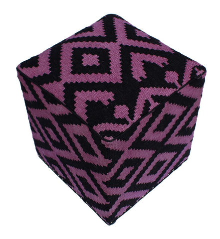 P01972,Over Dyed                     ,,Black,PURPLE,Hand-made                     ,Pakistan   ,100% Wool  ,Rectangle  ,652671218101