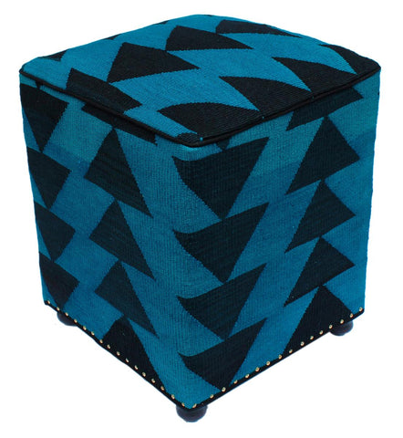 P01975,Over Dyed                     ,,Blue,BLACK,Hand-made                     ,Pakistan   ,100% Wool  ,Rectangle  ,652671218132
