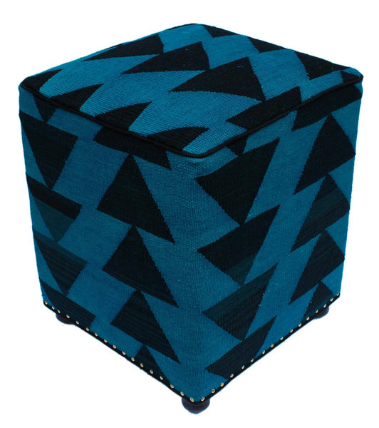 P01977,Over Dyed                     ,,Blue,BLACK,Hand-made                     ,Pakistan   ,100% Wool  ,Rectangle  ,652671218156