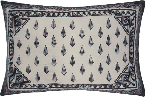 handmade Turkish Throw Pillow Ivory Blue  RECTANGLE SILK area rug