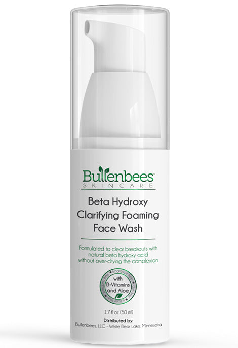 Beta Hydroxy Foaming Face Wash for Oily to Normal Skin