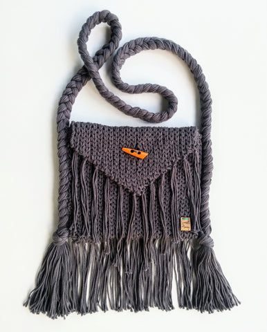 Boho Fringe Cross Body Bag